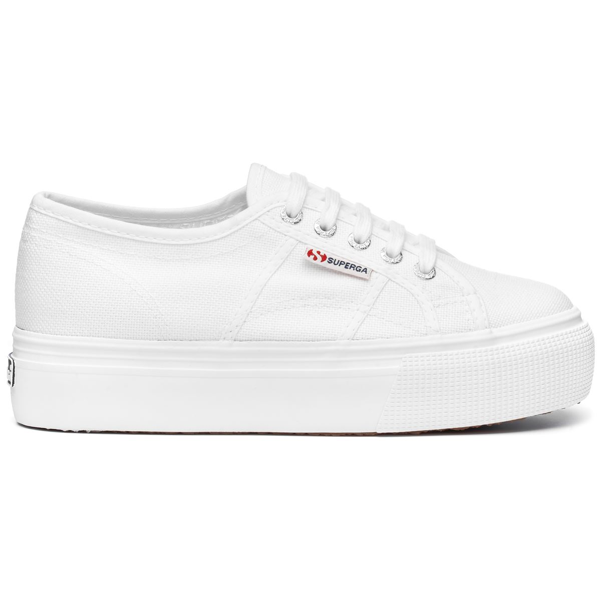 Superga ACOTW LINEA UP AND DOWN TOTAL WHITE
